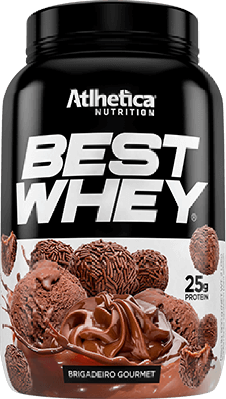 Best Whey Brigadeiro Gourmet 900g Athletica