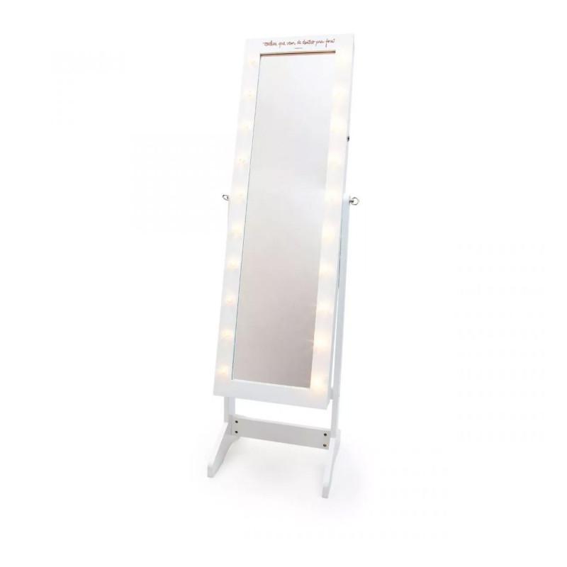 Espelho Armário para Bijoux LED Beleza