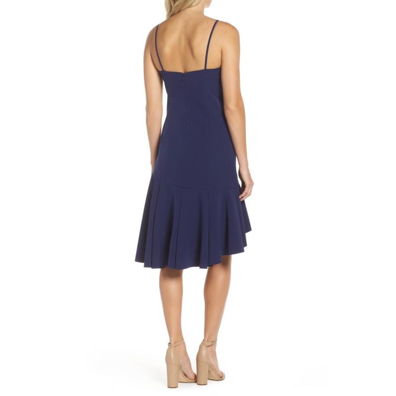 Vestido Mid Princesa Deep Blue