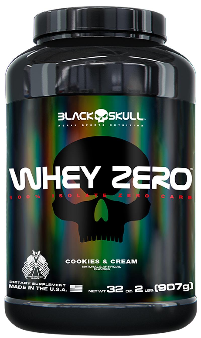 Whey 4 HD Cookies Cream 907g Black Skull