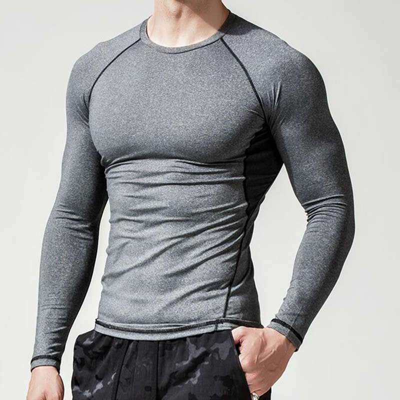Camiseta Sportswear Masculina Top Training Elite Cinza