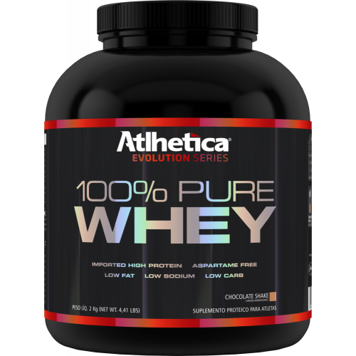 100% Pure Whey Athetica 2kg Chocolate