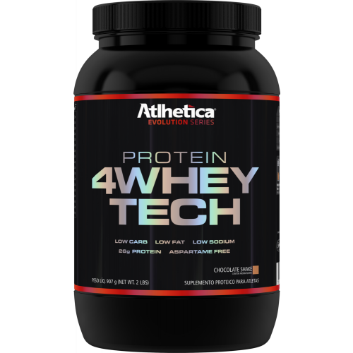 4whey Tech Chocolate 907g Atlhetica