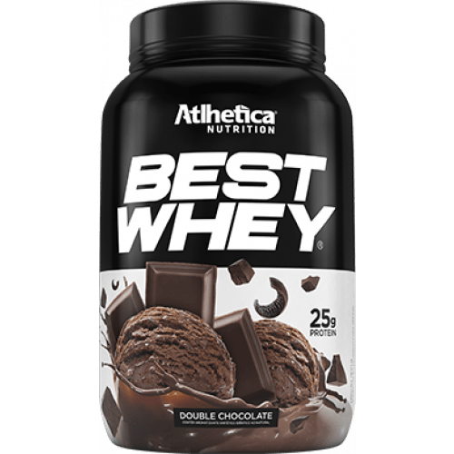 Best Whey Double Chocolate 900g Athletica