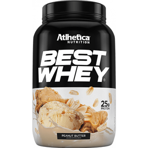 Best Whey Peanut Butter 900g Athletica