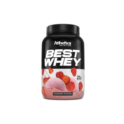 Best Whey Strawberry Milkshake 900g Atlhetica