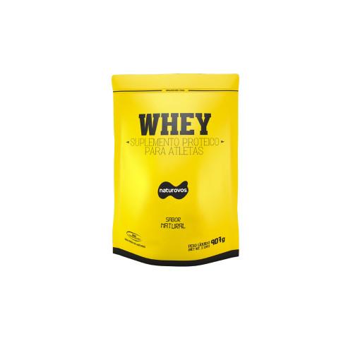 Whey Protein  Natural (907g) - Naturovos