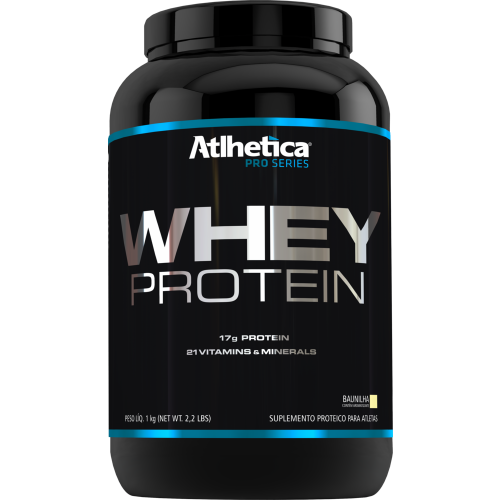 Whey Pro Series Baunilha 1kg Atlhetica