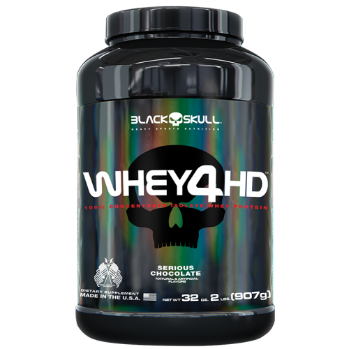 Whey 4 HD Chocolate 907g Black Skull