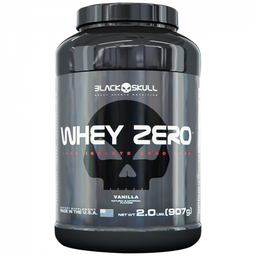 Whey Zero Baunilha 907g Black Skull