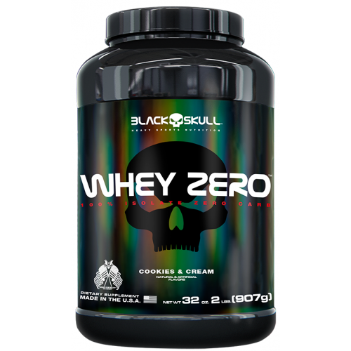 Whey 4 HD Cookies Cream 907g Black Skull