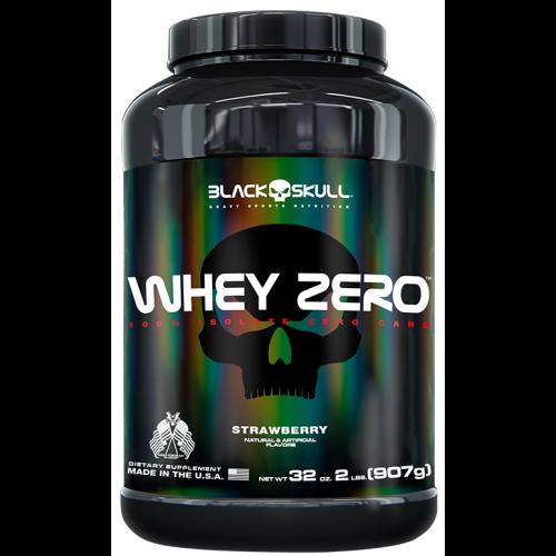 Whey Zero Morango 907g Black Skull